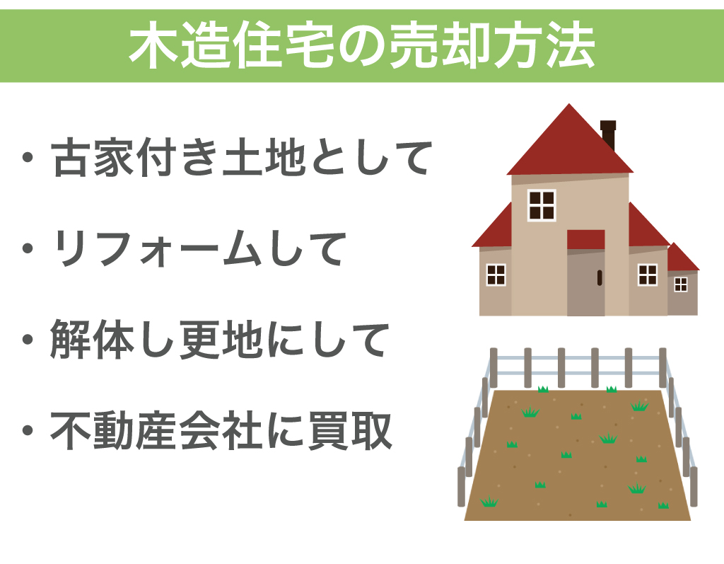 木造住宅の売却方法